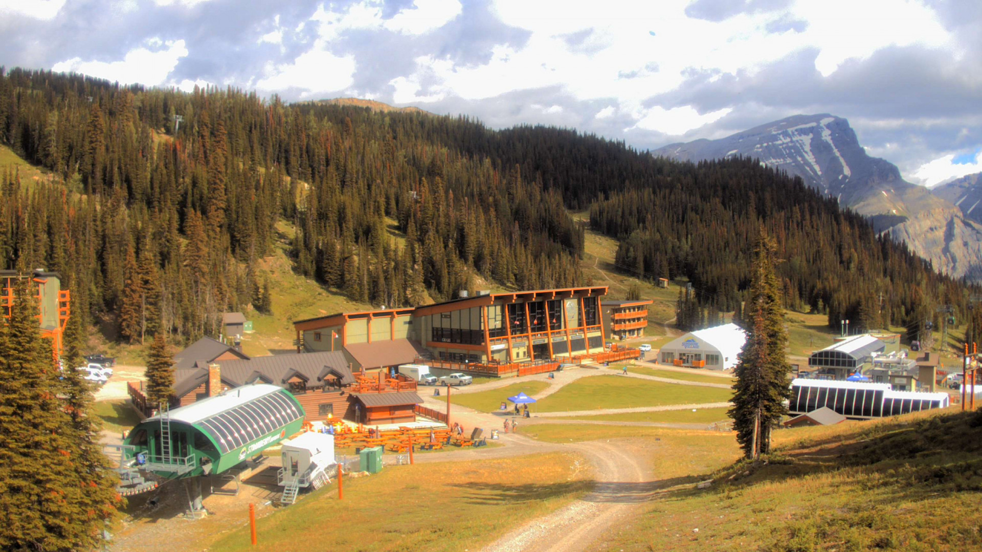 Sunshine Mountain Lodge, Sunshine Village Webcam