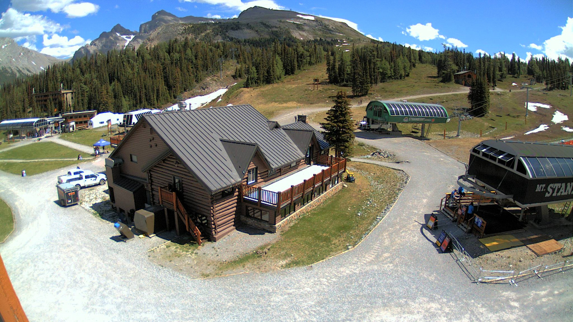 Sunshine Village web cam