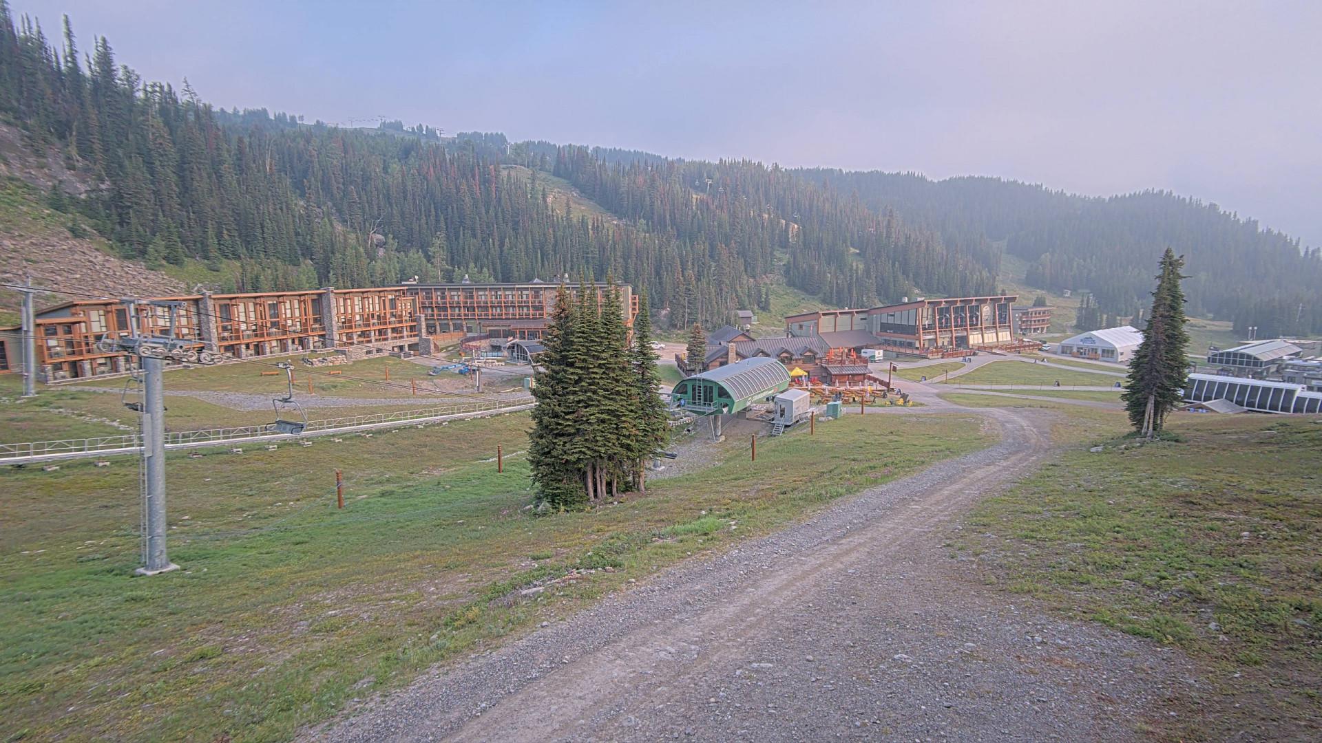 Webcam en Sunshine Meadows Trailhead, Sunshine Village (Canadá)